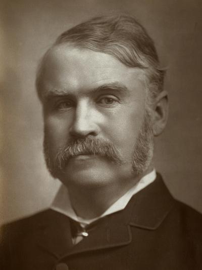 William Schwenck Gilbert, British Artist, Librettist, Playwright and Writer, 1883--Photographic Print
