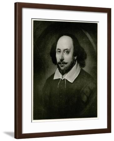 William Shakespeare, 1884-90--Framed Giclee Print