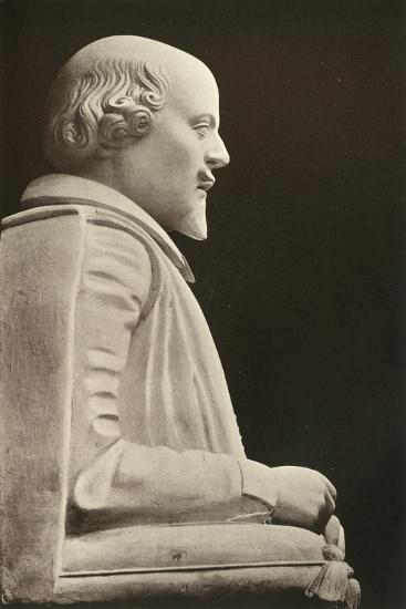 'William Shakespeare', (1909)-Unknown-Giclee Print