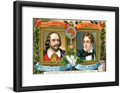 William Shakespeare and Lord Bryron, C1900