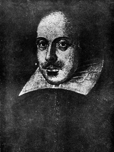 William Shakespeare, English Playwright, 19th Century--Giclee Print