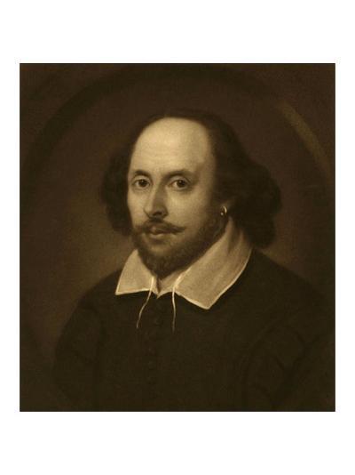 William Shakespeare-Vinton Clay-Art Print