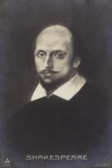 William Shakespeare--Giclee Print