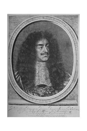 'Portrait of Charles II', c1660-1685, (1928)