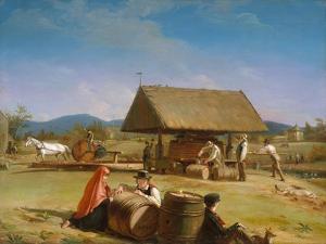 Cider Making, 1840-41 by William Sidney Mount