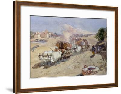 Cotton Transport, India, 1862