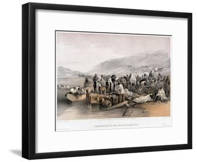 The Embarkation of the Sick at Balaklava, 1855
