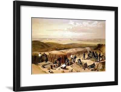 The New Works at the Siege of Sebastapol..., Crimean War, 1853-1856