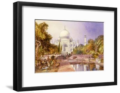 The Taj Mahal, Agra, England, 1864