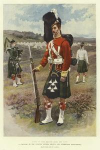 A Corporal of the Princess Louise'S, Argyll and Sutherland Highlanders by William Small