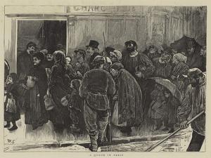 A Queue in Paris by William Small