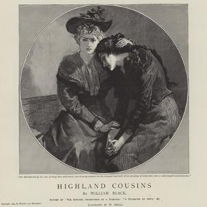 Highland Cousins by William Black by William Small