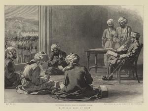 Nasrullah Khan at Home by William Small