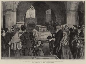 The Death of Mr Gladstone by William Small