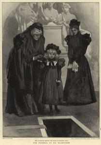 The Funeral of Mr Gladstone by William Small