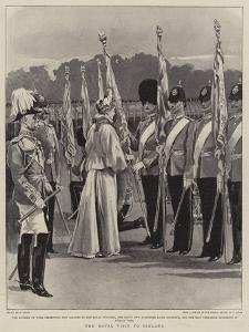 The Royal Visit to Ireland by William Small
