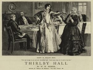 Thirlby Hall by William Small