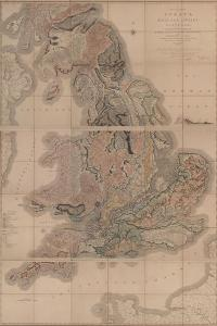 Delineation of the Strata of England and Wales with a Part of Scotland (The First Geological Map Of by William Smith