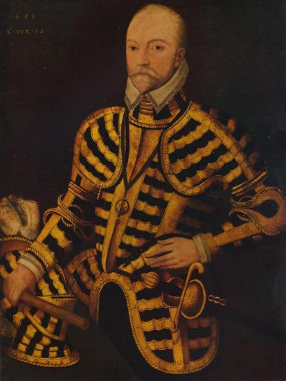 'William Somerset, 3rd Earl of Worcester', c16th century-Unknown-Giclee Print