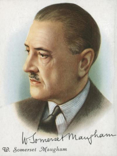 William Somerset Maugham, British Author of Novels, Plays and Short Stories, 1927-Somerset Maugham-Giclee Print