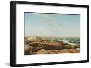 Narragansett Bay, 1864 by William Stanley Haseltine