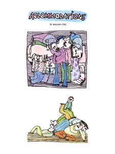 ACCOMMODATIONS - New Yorker Cartoon by William Steig