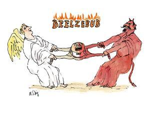 Beelzebub' - New Yorker Cartoon by William Steig