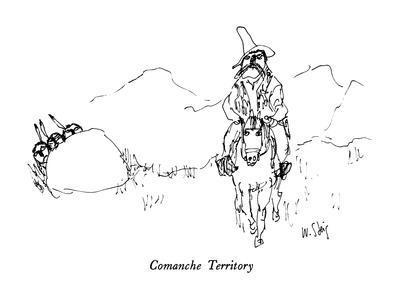 Comanche Territory - New Yorker Cartoon