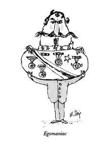 Egomaniac - New Yorker Cartoon by William Steig