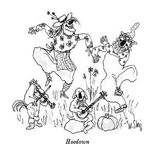Hoedown - New Yorker Cartoon by William Steig
