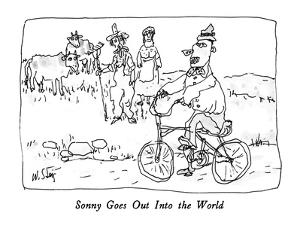 Sonny Goes Out Into the World - New Yorker Cartoon by William Steig