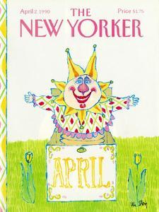 The New Yorker Cover - April 2, 1990 by William Steig