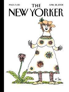 The New Yorker Cover - April 28, 2008 by William Steig