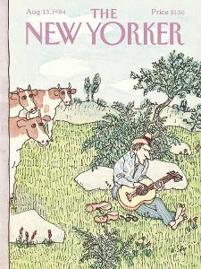 The New Yorker Cover - August 13, 1984 by William Steig