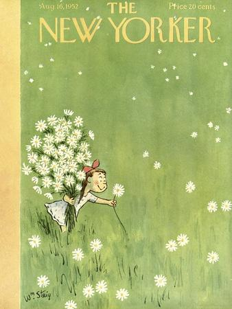 The New Yorker Cover - August 16, 1952