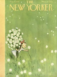 The New Yorker Cover - August 16, 1952 by William Steig
