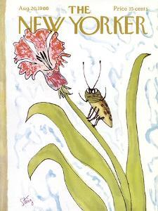 The New Yorker Cover - August 20, 1966 by William Steig
