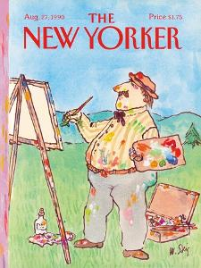 The New Yorker Cover - August 27, 1990 by William Steig