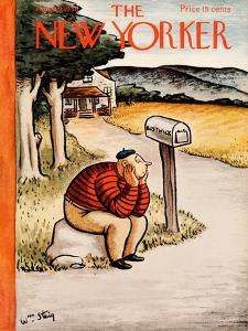 The New Yorker Cover - August 29, 1936 by William Steig