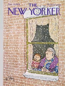 The New Yorker Cover - December 14, 1968 by William Steig