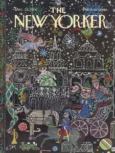 The New Yorker Cover - December 23, 1974 by William Steig