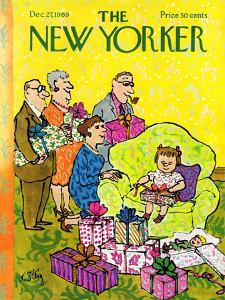 The New Yorker Cover - December 27, 1969 by William Steig
