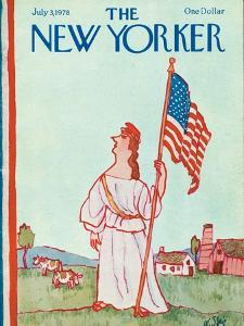 The New Yorker Cover - July 3, 1978 by William Steig