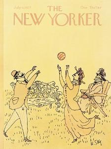 The New Yorker Cover - July 4, 1977 by William Steig