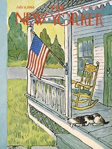The New Yorker Cover - July 6, 1968 by William Steig