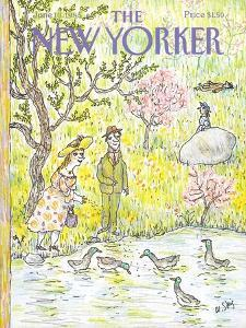 The New Yorker Cover - June 10, 1985 by William Steig