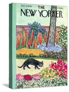 The New Yorker Cover - June 18, 1960 by William Steig