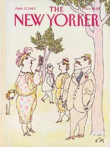 The New Yorker Cover - June 27, 1983 by William Steig