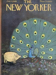 The New Yorker Cover - June 4, 1966 by William Steig