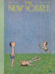 The New Yorker Cover - June 6, 1959 by William Steig